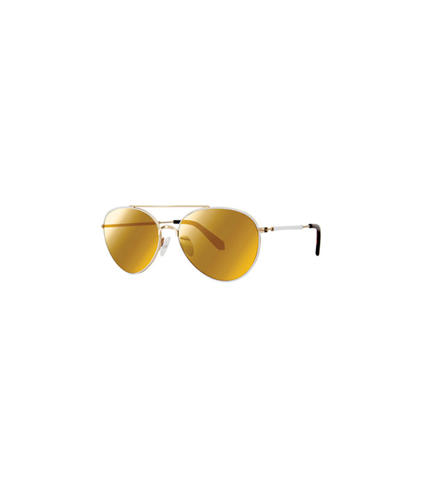 Isabelle Sunglasses, Gold Metallic, large