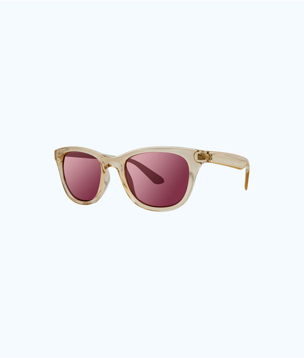 Maddie Sunglasses, Gold Metallic, large