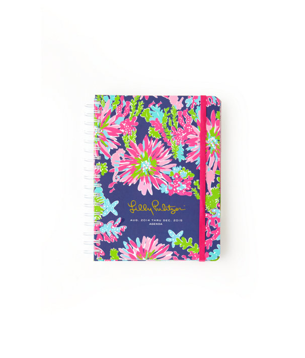 Large Agenda - Trippin And Sippin, Bright Navy Trippin And Sippin Accessories, large
