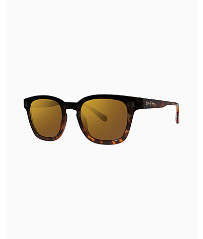 Josie Sunglass, Pink Tropics Sun Drenched, large 0