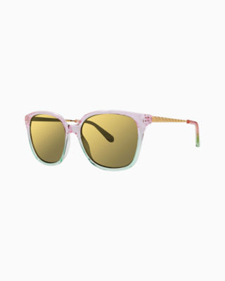 Haylee Sunglass, Crystal Pink, large 0
