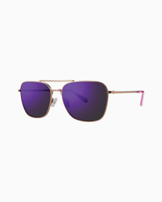 Kate Sunglass, Pink Tropics Sun Drenched, large 0