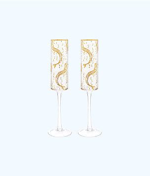Champagne Glass Set, , large