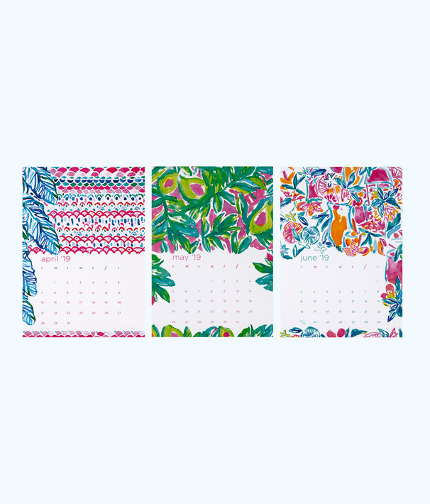 2019 Desk Calendar, Multi, large