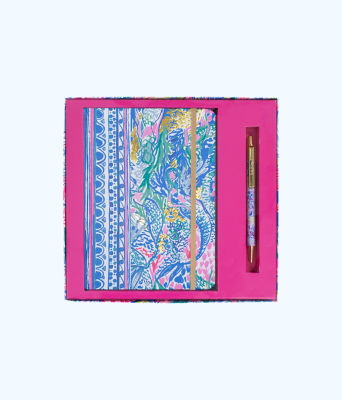 Journal With Pen, Multi Mermaids Cove, large 0