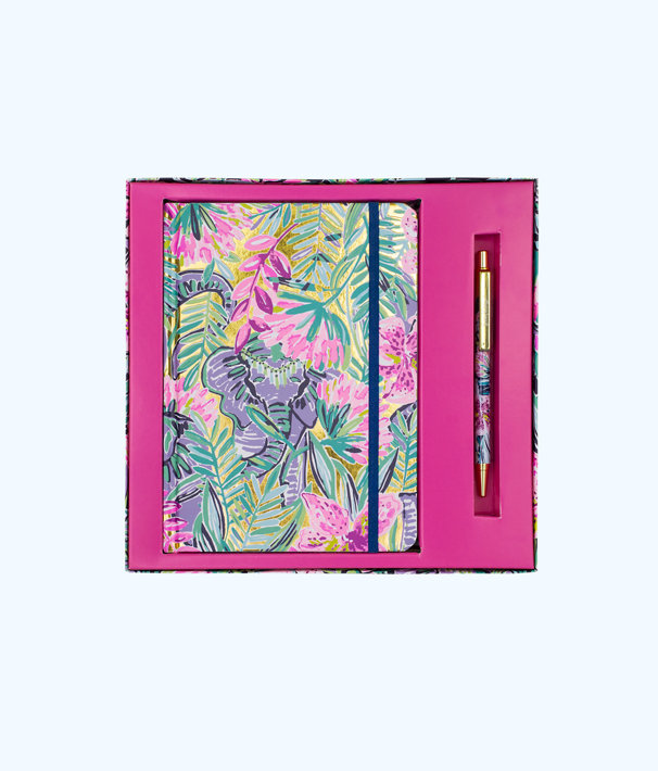 Journal With Pen, Multi Slathouse Soiree, large