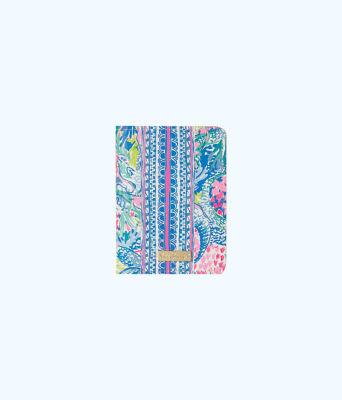 Passport Cover, Multi Mermaids Cove, large