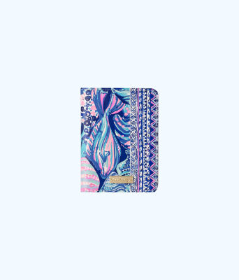 Passport Cover, Twilight Blue Scale Up, large 0