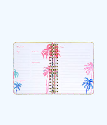 To Do Planner, Resort White Desert Palm Stripe Engineered Skipper, large