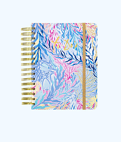 To Do Planner, Crew Blue Tint Kaleidoscope Coral, large 0