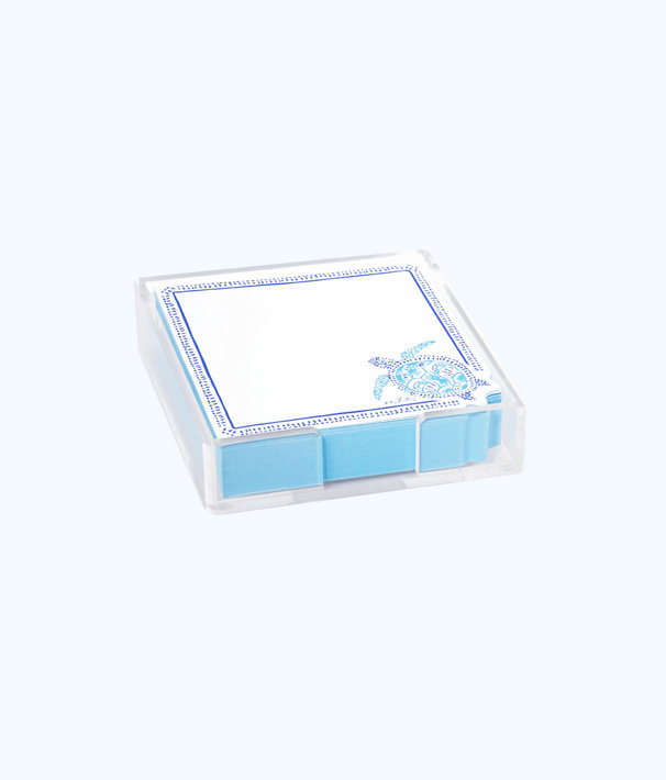List Pad, Blue Peri Turtley Awesome, large