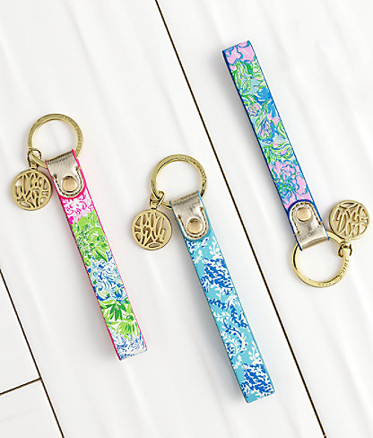 Strap Keychain, Multi Cheek To Cheek, large 1