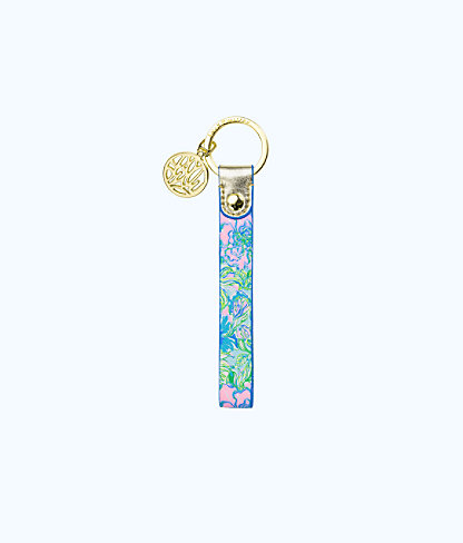 Strap Keychain, Multi Party Thyme, large 0