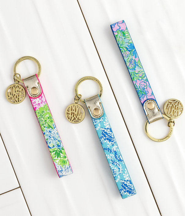 Strap Keychain, Multi Party Thyme, large