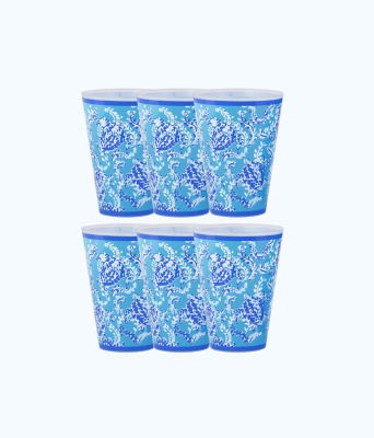 Pool Cups, Blue Peri Turtley Awesome, large 0