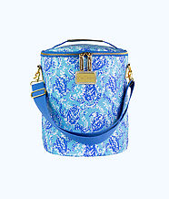 Beach Cooler, Blue Peri Turtley Awesome, large