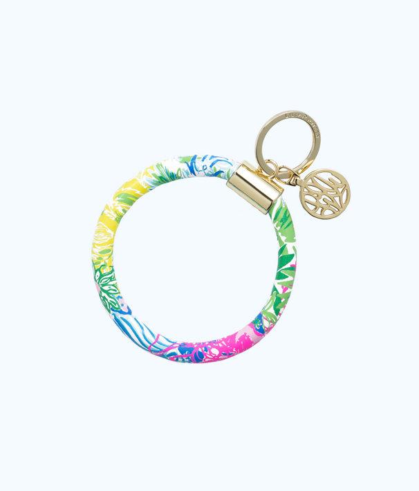 Round Key Chain, Multi Cheek To Cheek, large