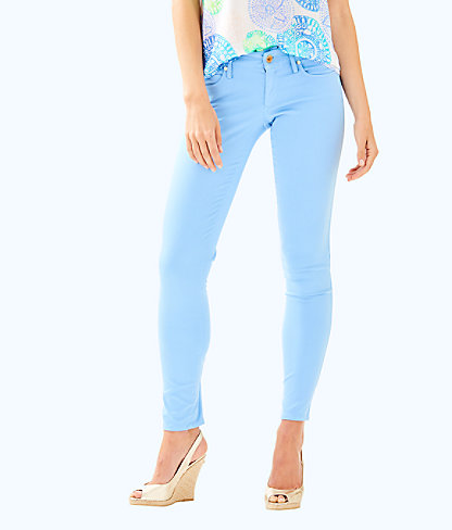 "31"" Worth Skinny Jean - Sateen, Chambray Tint, large"