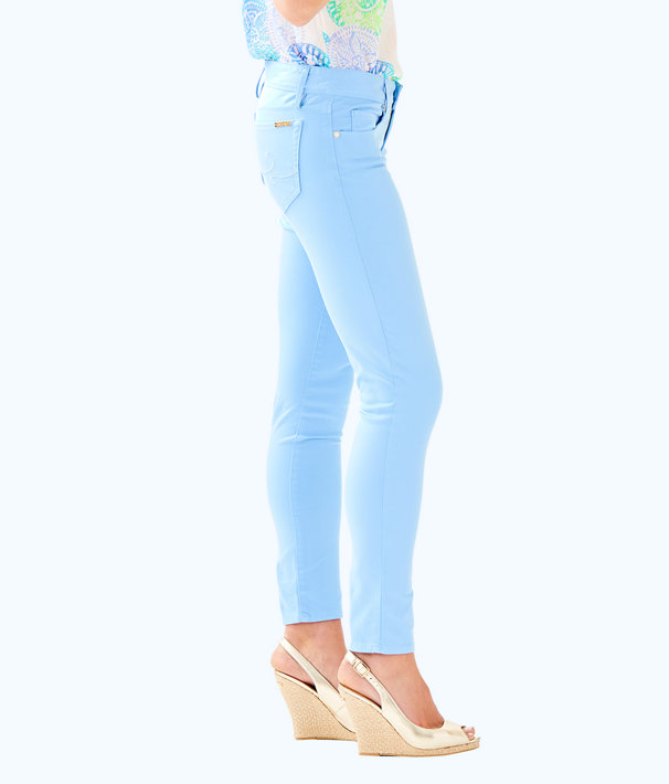 """31"""" Worth Skinny Jean - Sateen, Chambray Tint, large"""