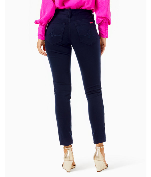 "31"" Worth Skinny Jean - Sateen, Midnight Navy, large"