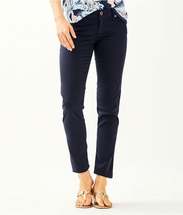 "31"" Worth Skinny Jean - Sateen, Onyx, large"