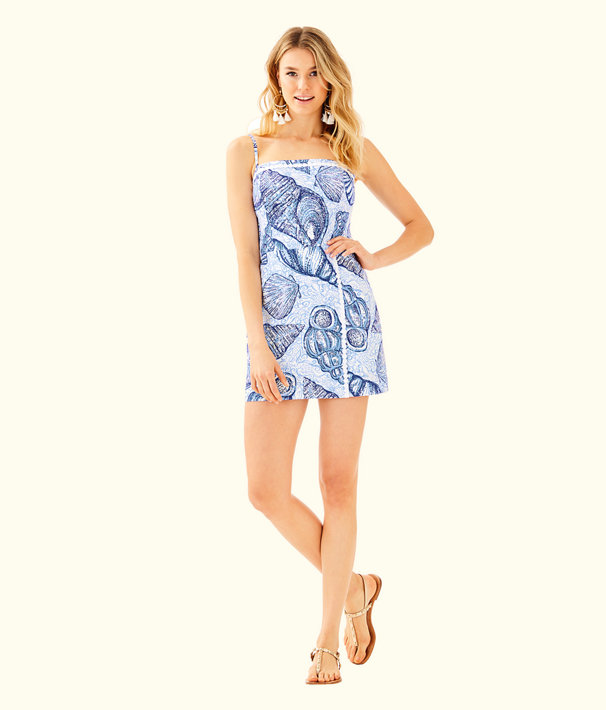 Jesse Skort Romper, Blue Peri Pop Up Stuffed Shells, large
