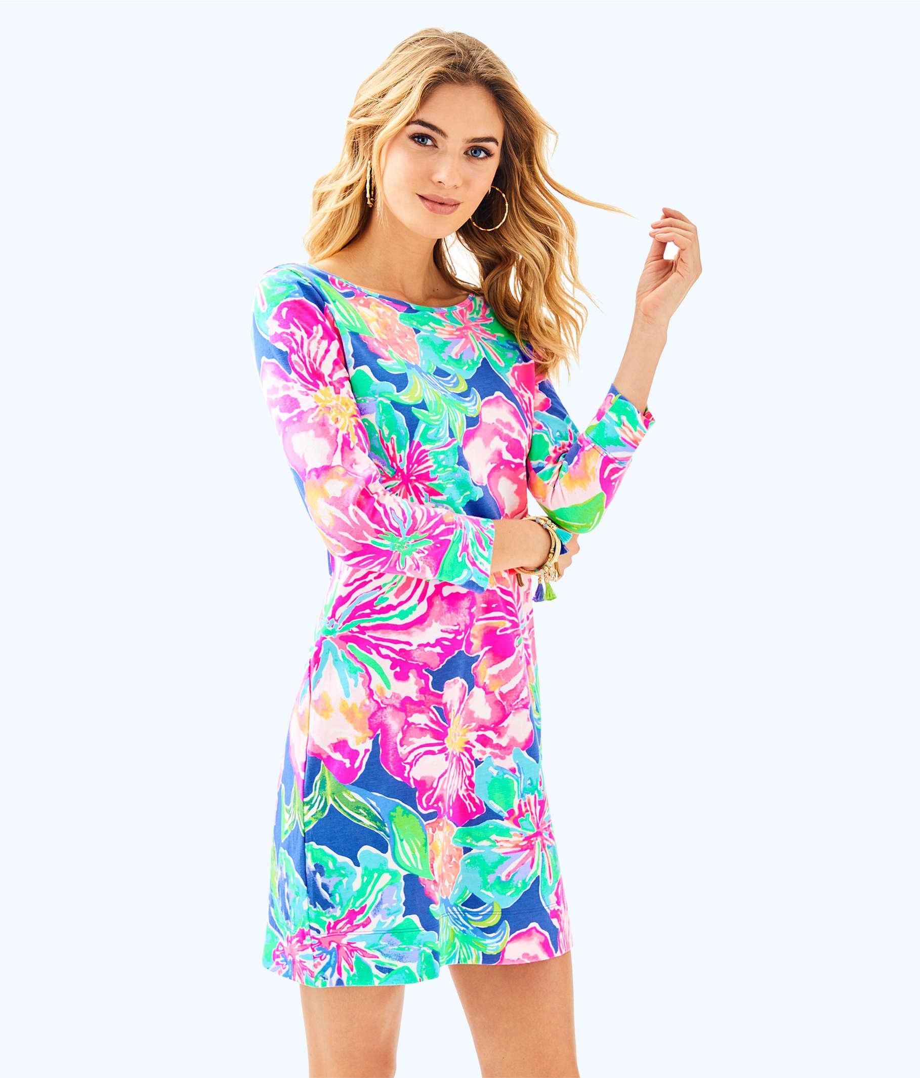 Marlowe Boatneck T Shirt Dress 97181 Lilly Pulitzer