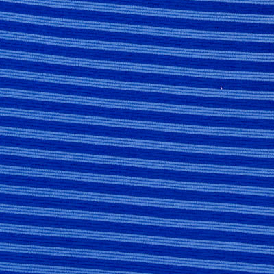 Blue Grotto Ottoman Stripe