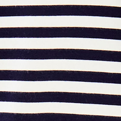 Bright Navy Poolside Stripe