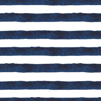 Bright Navy Positano Stripe