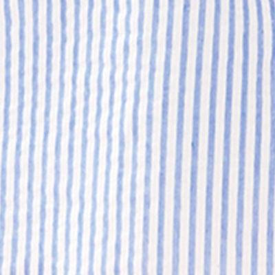 Coastal Blue Ltwt Oxford Stripe