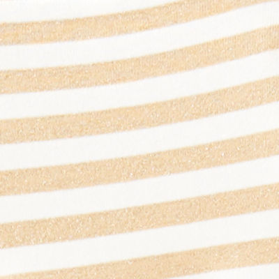 Coconut Two Color Positano Stripe