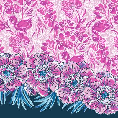 Girls Mini Lula Dress, Coral Reef Tint Flamingle Engineered Kids Dress Front, swatch