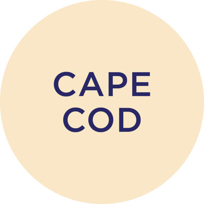 Gold Metallic Cape Cod Charm