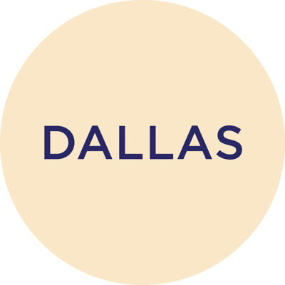 Gold Metallic Dallas Charm