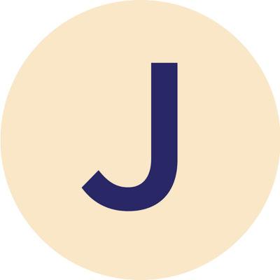 Gold Metallic J Charm