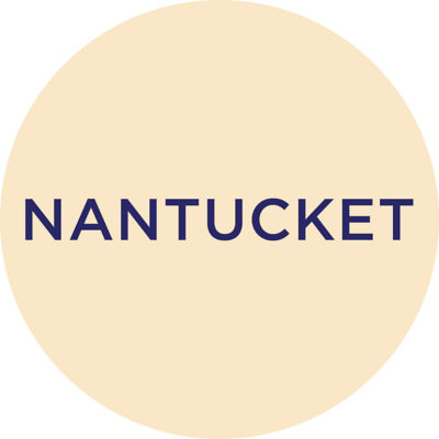 Gold Metallic Nantucket Charm