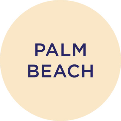 Gold Metallic Palm Beach Charm