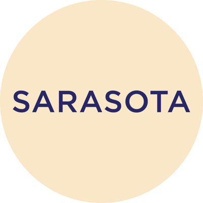 Gold Metallic Sarasota Charm