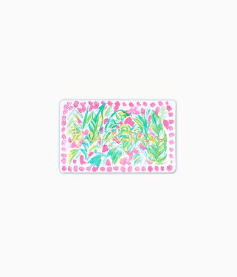 Gift Card, Multi Leaf A Good Impression Gift Card, large