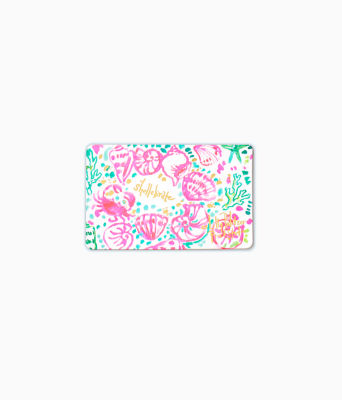 Gift Card, Multi Shellabrate Everything Gift Card, large