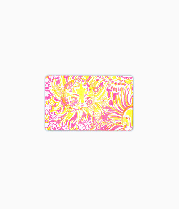 Gift Card, Multi Sunny And Bright Gift Card, large