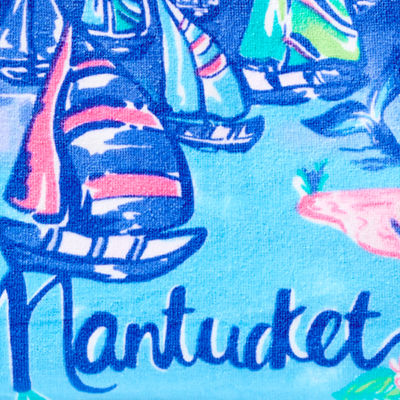 Multi Destination Nantucket Towel