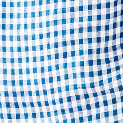Nauti Navy Colony Gingham