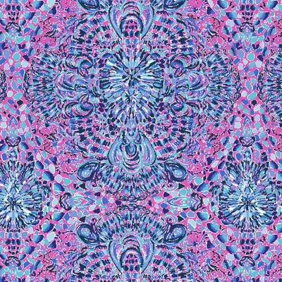 "Luxletic 4\"" Ocean Trail Short, Pink Tropics Call My Shell Phone, swatch"
