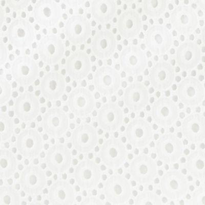 Resort White Bubble Eyelet