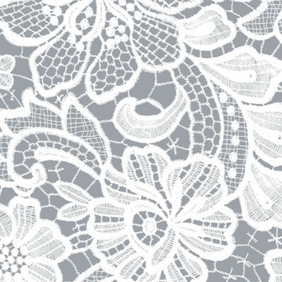 Resort White Floral Lace