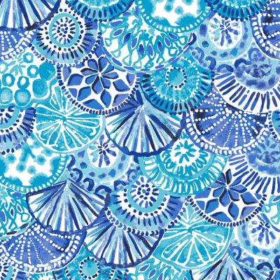 Turquoise Oasis Half Shell