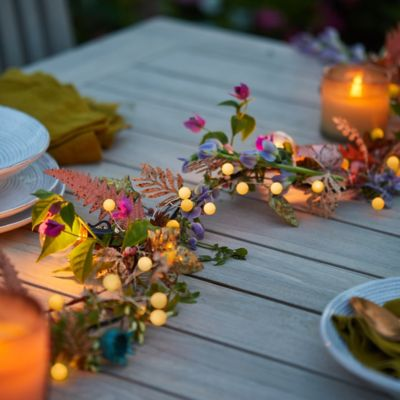 Shop the Look: A Glowing Summer Garland