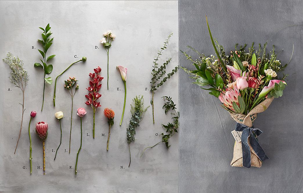 Specimen Guide: Farmgirl Flowers Valentine Bouquet | The BLOG at Terrain